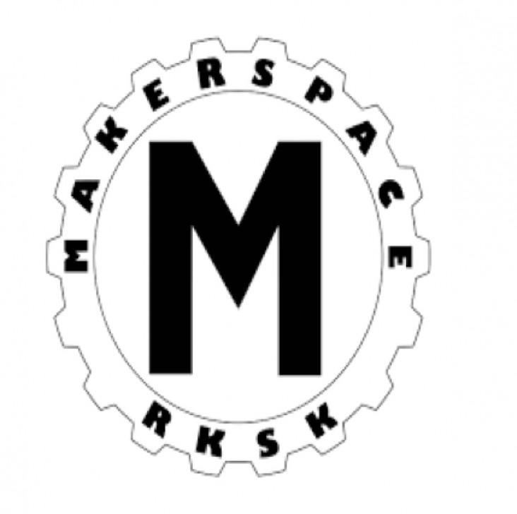 Innovation og teknologi. Dekorations billede - Makerspace logo