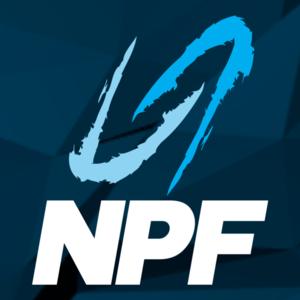 NPF. Dekorations billede - NPF logo