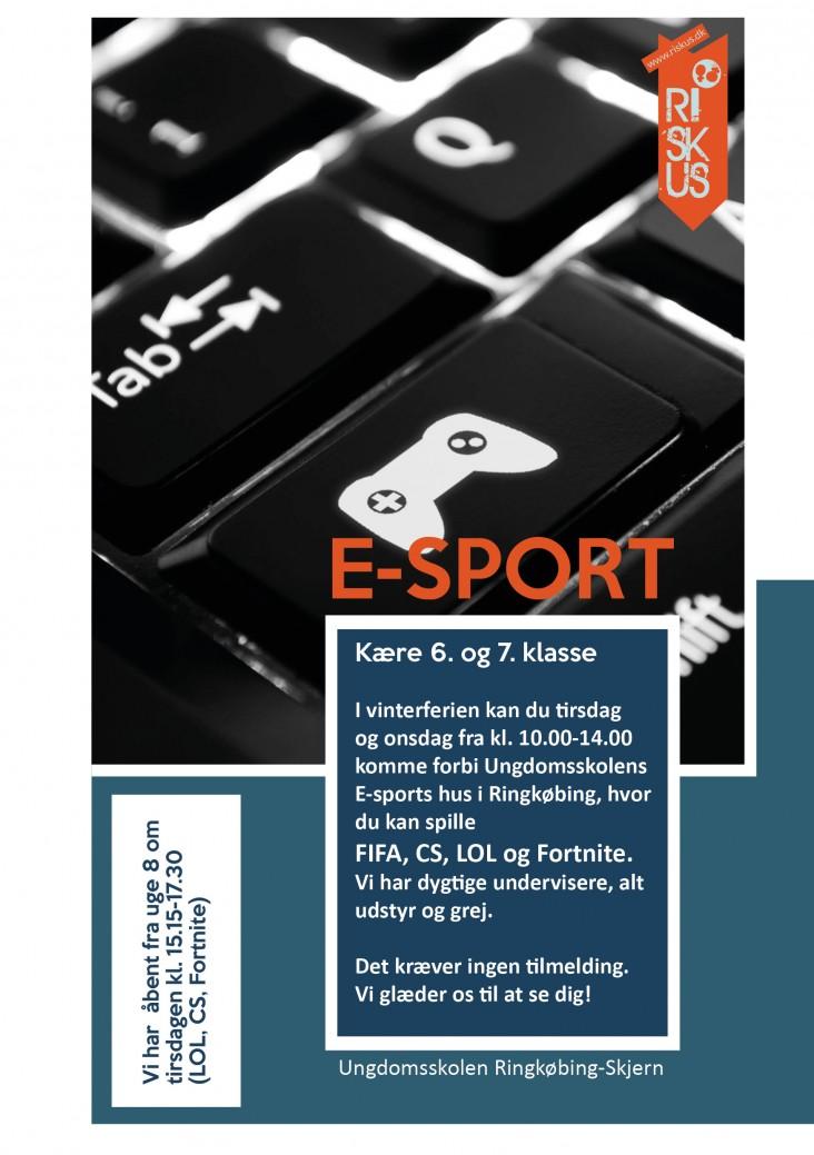 E-sport - 6. og 7. kl