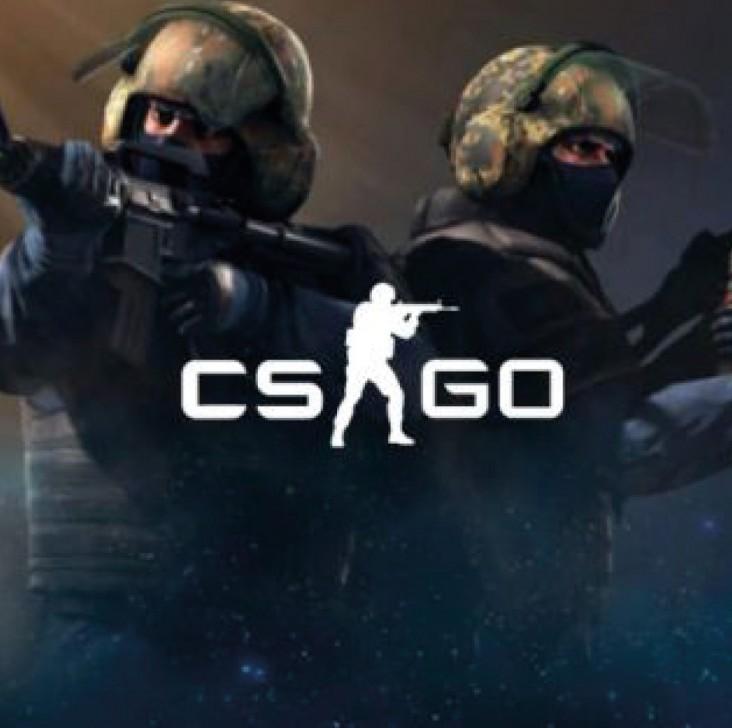 CS:GO. Dekorations billede - E-sport -CS:GO - animation af spillet