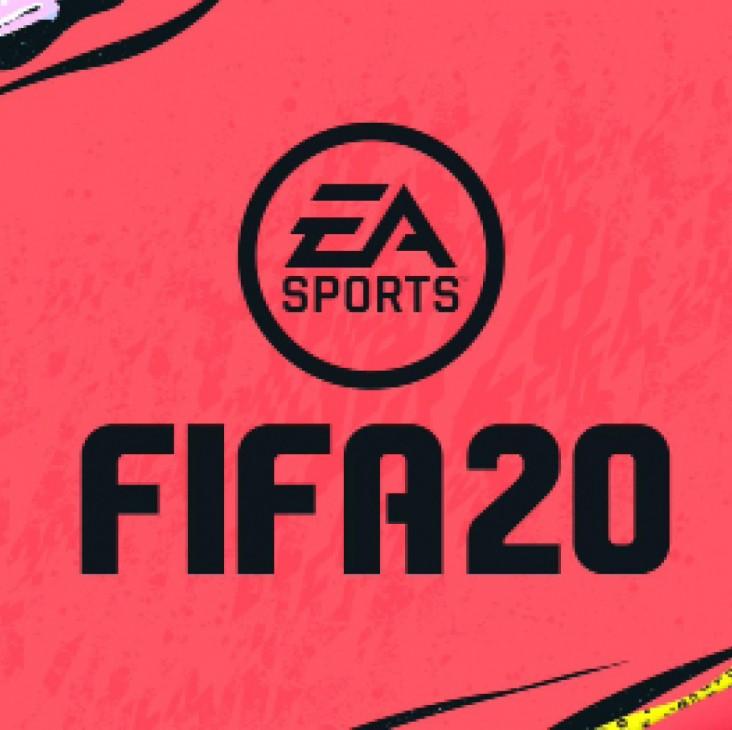 Fifa 20. Dekorations billede - Fifa logo