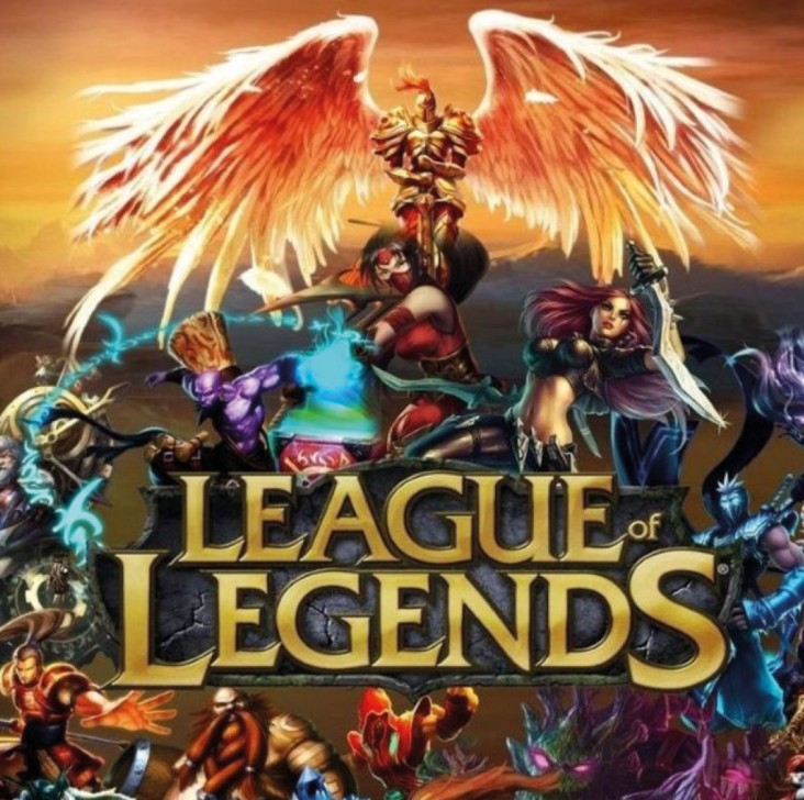 LOL - Esport. Dekorations billede - Animeret League of Legendes billede